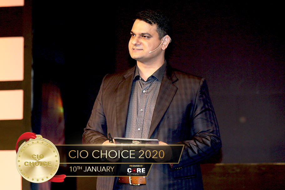 Anoop Mathur @ CIO Choice 2020