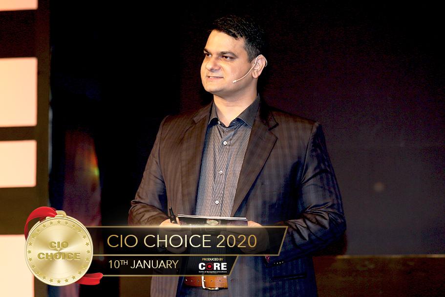 Anoop Mathur @ CIO Choice 2020