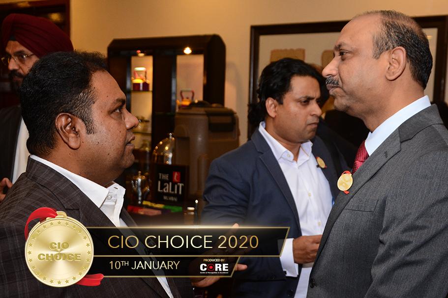 C Mohan and GS Ravi Kumar @ CIO Choice 2020