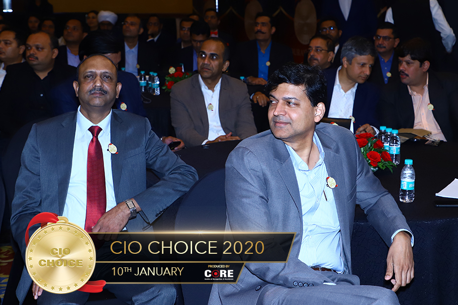 GS Ravi Kumar and Mayur Danait @ CIO Choice 2020