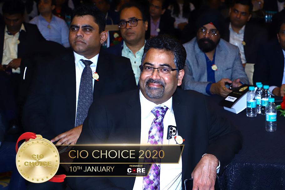 KRC Murthy @ CIO Choice 2020