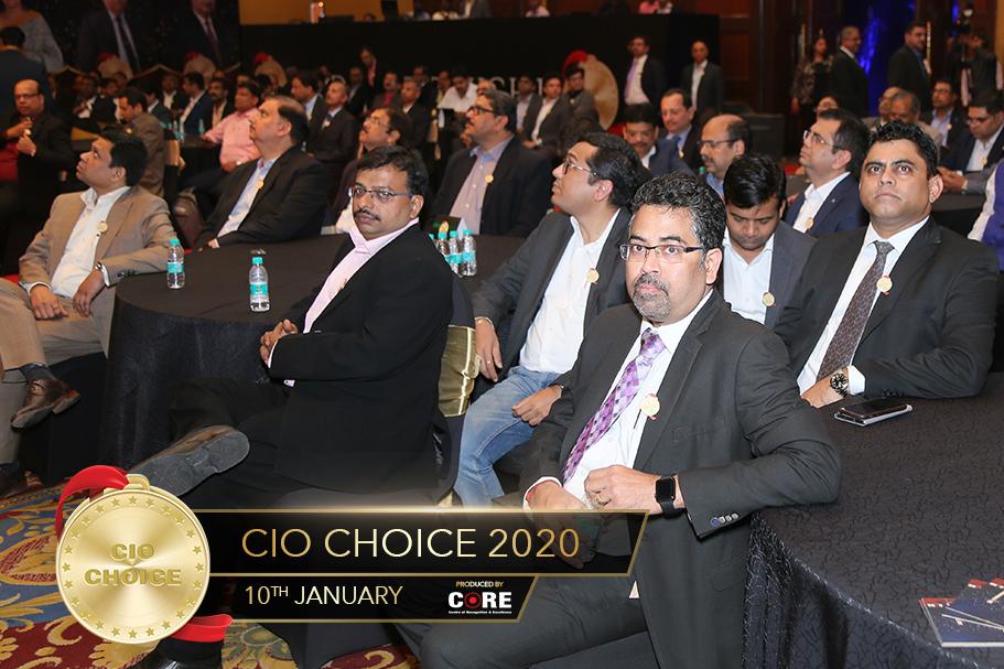 KRC Murthy and Tejas shah @ CIO Choice 2020