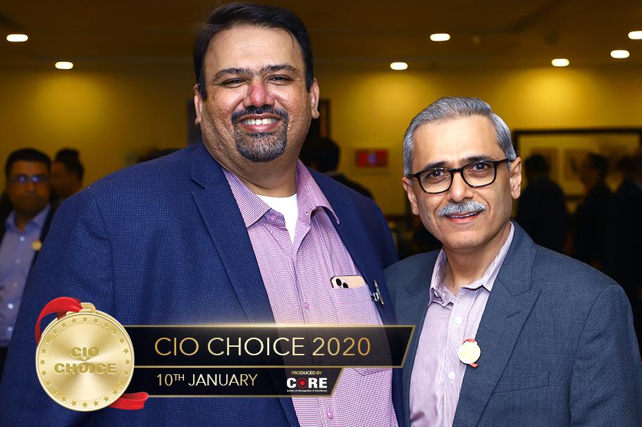Sanjay Mehta @ CIO Choice 2020