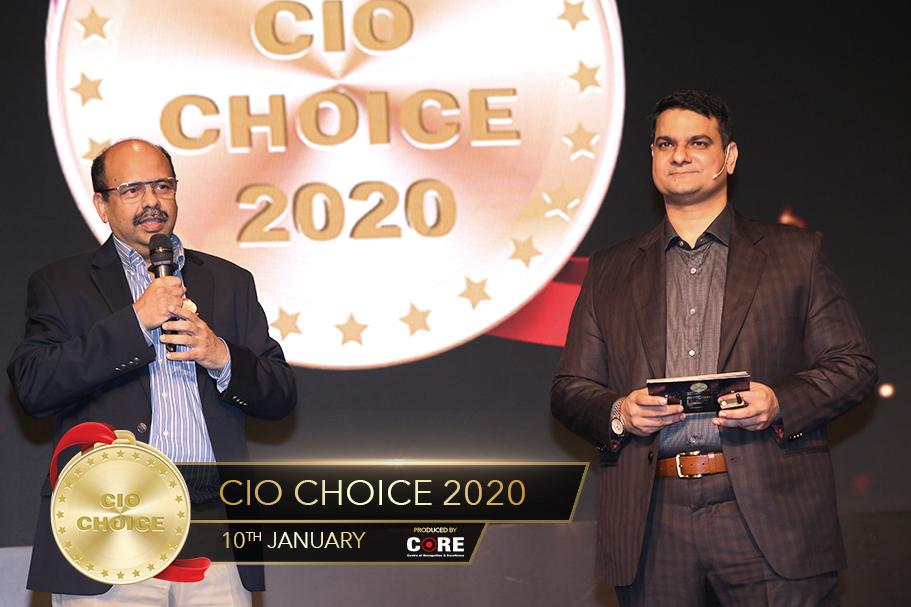 Sharad Sanghi and Anoop Mathur @ CIO Choice 2020